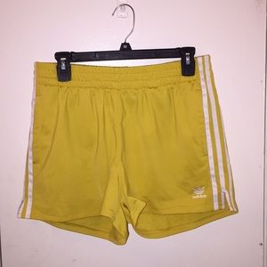 Adidas Women's 3 Stripe Shorts